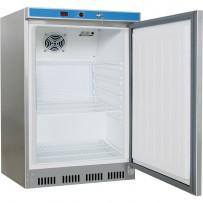 Kühlschrank INOX, 200 Liter, Abmessung 600 x 600 x 850 mm (BxTxH)