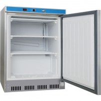 Tiefkühlschrank INOX, 200 Liter, Abmessung 600 x 600 x 850 mm (BxTxH)