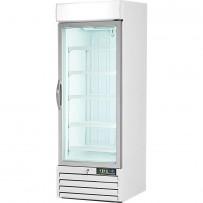 Displaytiefkühlschrank mit Glastür, 420 Liter, Abmessung 680 x 700 x 1990 mm (BxTxH)