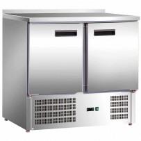 Kühltisch mit zwei Türen, Abmessung 900 x 700 x 880 mm (BxTxH)