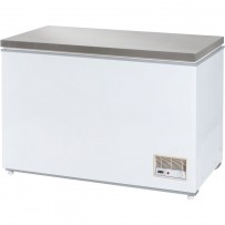 Tiefkühltruhe mit Edelstahldeckel, 312 Liter, Abmessung 1220 x 680 x 875 mm (BxTxH)