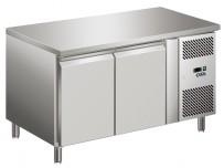 COOL-LINE-Kühltisch, mit 2 Türen, optional auch Schubladenkits möglichKorpushöhe: 700, Tiefe: 700