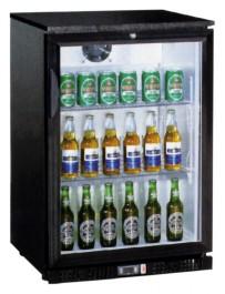 Flaschenkühler, 138 Liter, 600 x 520 x 900 mm, mit Glastür,