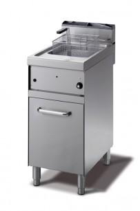 Gas-Friteuse 400x700x900mm, 10 Liter,