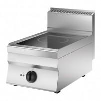 Induktion-Elektroherd, 400x650x295-490mm, 5 kW, 400V