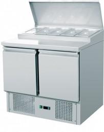 Saladette, mit Kühlaufsatz, 900x700x970mm, 5x1/6 GN