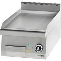 Elektro-Griddleplatte als Tischgerät Serie 700 - glatt, 400 x 700 x 250 mm (BxTxH)