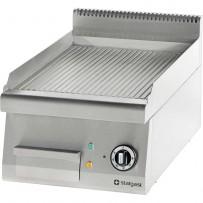 Elektro-Griddleplatte als Tischgerät Serie 700 - gerillt, 400 x 700 x 250 mm (BxTxH)