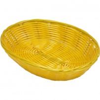 Brot- und Obstkorb oval, Polypropylen,  232 x 178 x 50 mm (BxTxH)