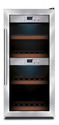 Weinkühlschrank für 24 Flaschen, 400x495x875mm ,120W, 230 V
