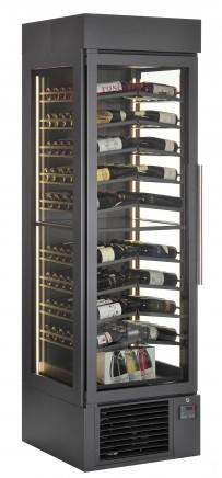 Weinklimaschrank, 1 Tür, steckerfertig, getrennt regelbar