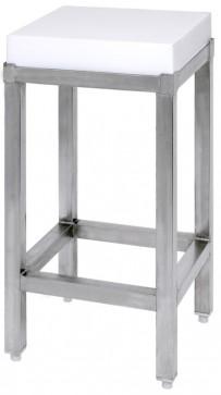Edelstahluntergestell für 3645 40 x 40 cm (Polyethylenblock)