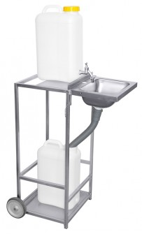 Mobiles Waschbecken, Standard