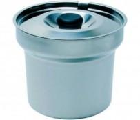 Bain Marie Pot mit Deckel, 4,0 ltr., Chromnickelstahl