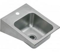 Handwaschbecken, 32 x 41,5 x 15 cm, Chromnickelstahl