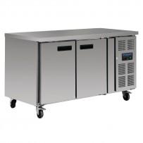 Polar Kühltisch 228 Liter 2-türig