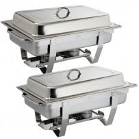 Olympia Chafing Dish Set Milan 2er Pack