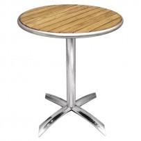 Bolero Tisch Tischblatt Esche rund 60cm