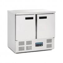 Polar Kühltisch 2-türig 240 Liter