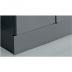 frontseitige Fußblende für, 400 mm Elemente, H in mm: 180